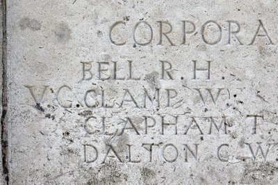 Tyne Cot Memorial, Clamp VC.