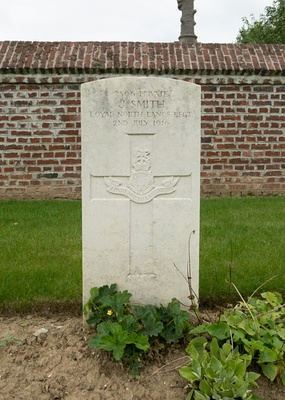 BULLY-GRENAY COMMUNAL CEMETERY - BRITISH EXTENSION, SHOT AT DAWN
