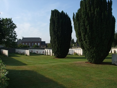 DOURLERS COMMUNAL CEMETERY EXTENSION