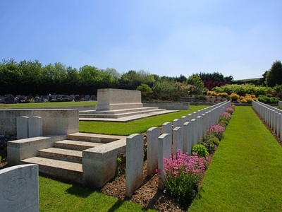 DOULLENS COMMUNAL CEMETERY EXTENSION NO. 1