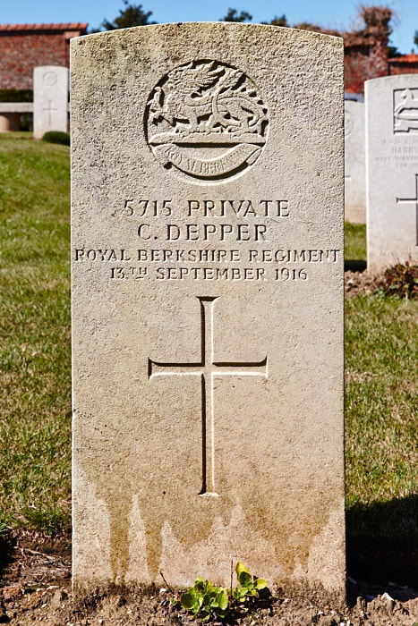 Beauval Communal Cemetery, Shot at Dawn - Depper