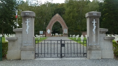 Belle-Motte French National cemetery