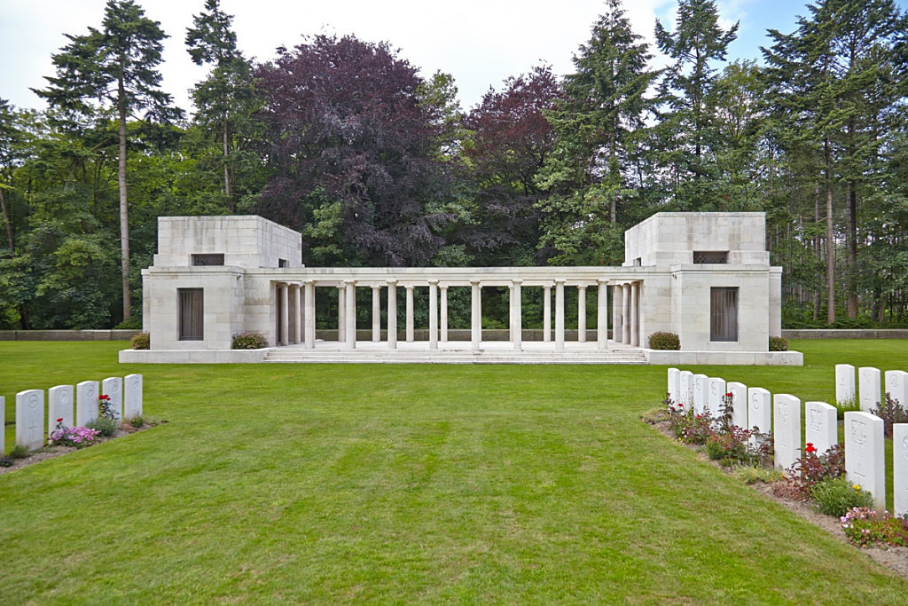 Buttes New British Cemetery, New Zealand Memorial Polygon Wood