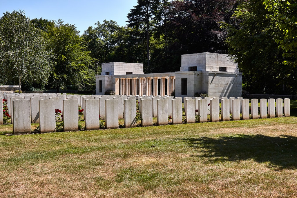 Buttes New British Cemetery Polygon Wood