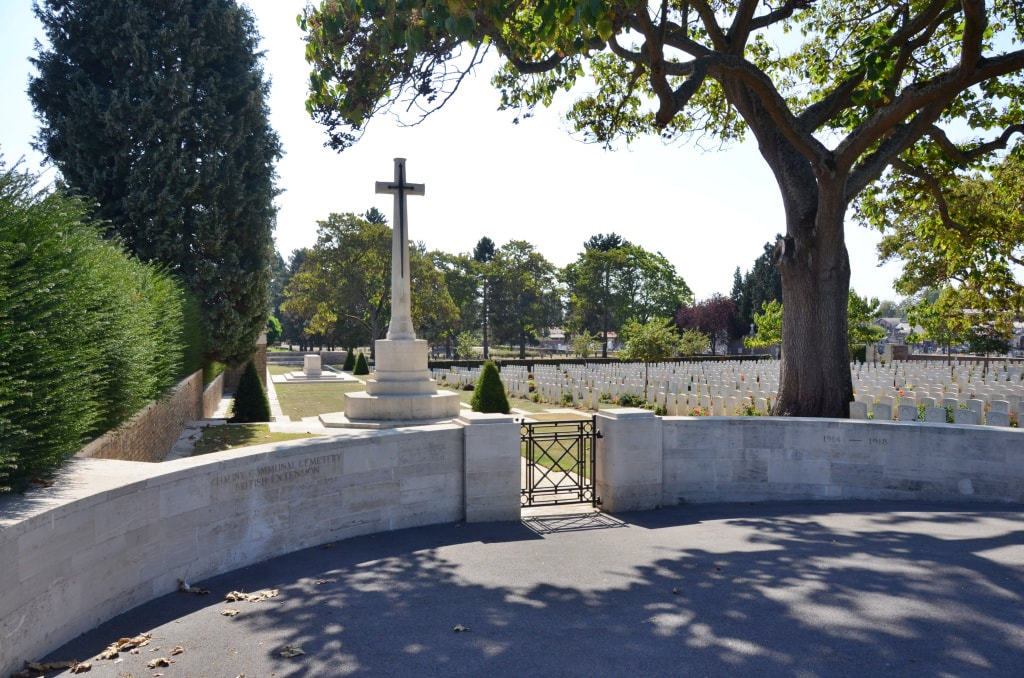 Chauny Communal Cemetery British Extension
