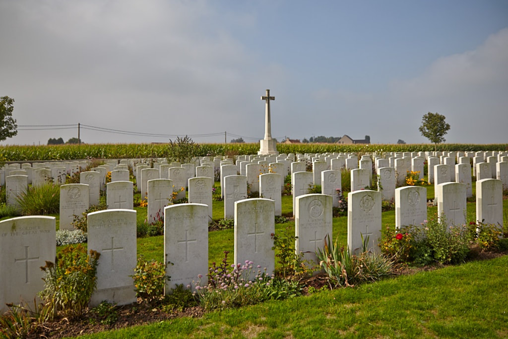 Dochy Farm New British Cemetery