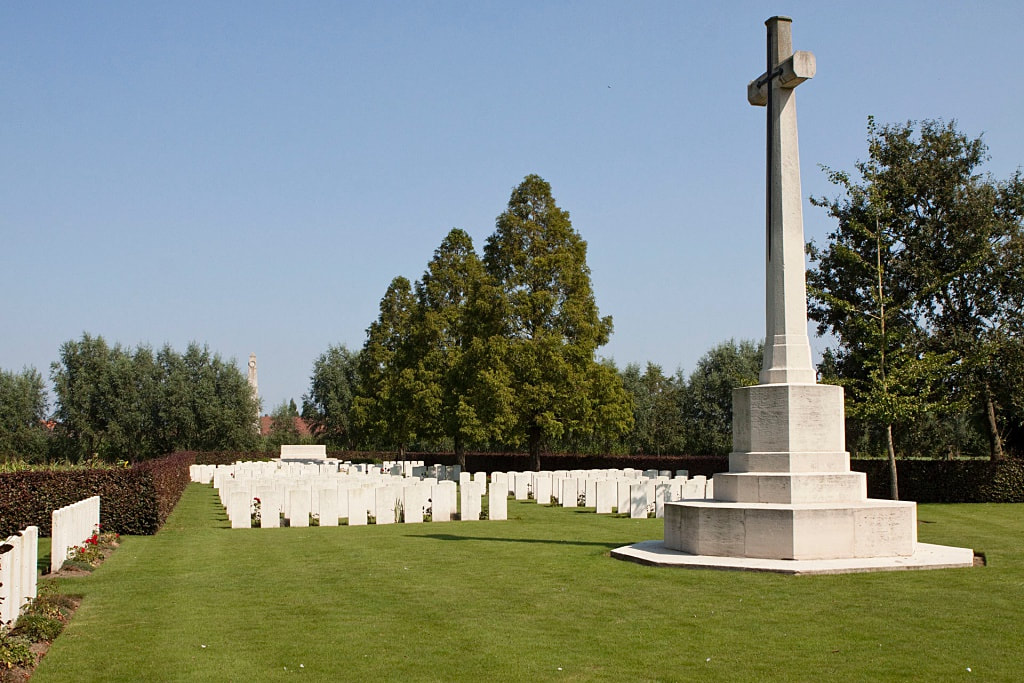 Oxford Road Cemetery, Ypres