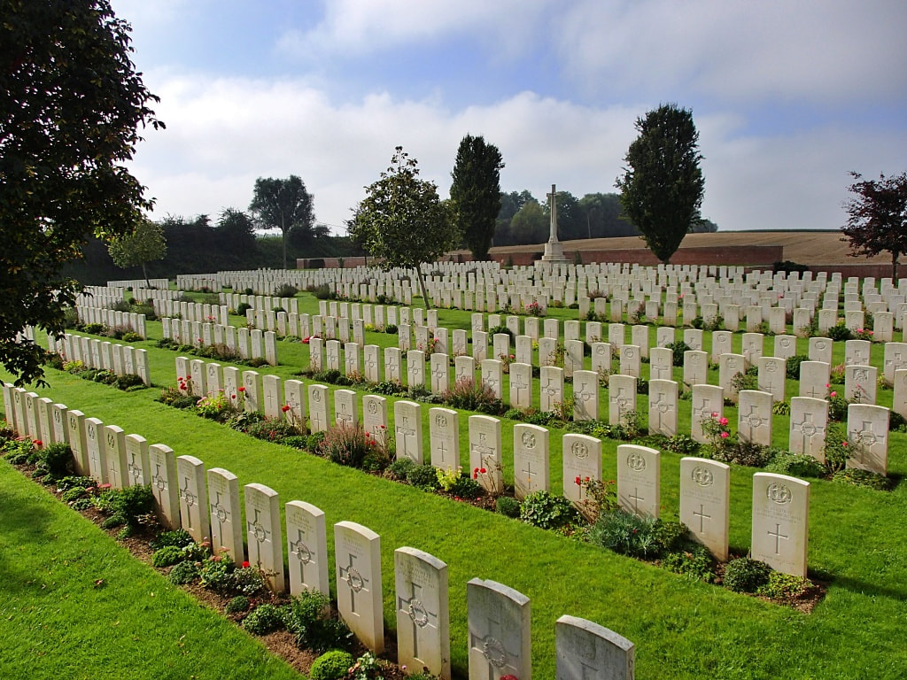Romeries Communal Cemetery Extension